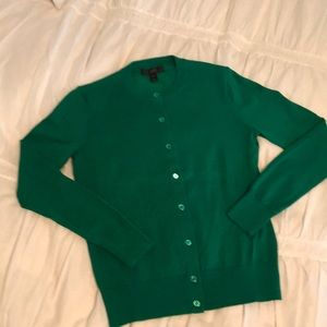Jcrew cotton cardigan extra small
